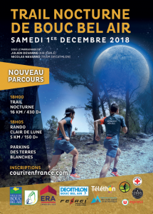 Trail Nocturne de Bouc Bel Air 2018 @ Bouc Bel Air | Bouc-Bel-Air | Provence-Alpes-Côte d'Azur | France
