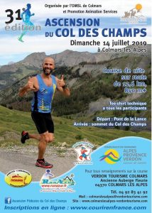 Ascension du Col des Champs 2019 @ Colmars les Alpes | Colmars | Provence-Alpes-Côte d'Azur | France